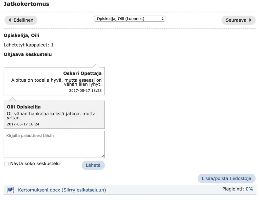 Fronter_assignment_feedback-loop